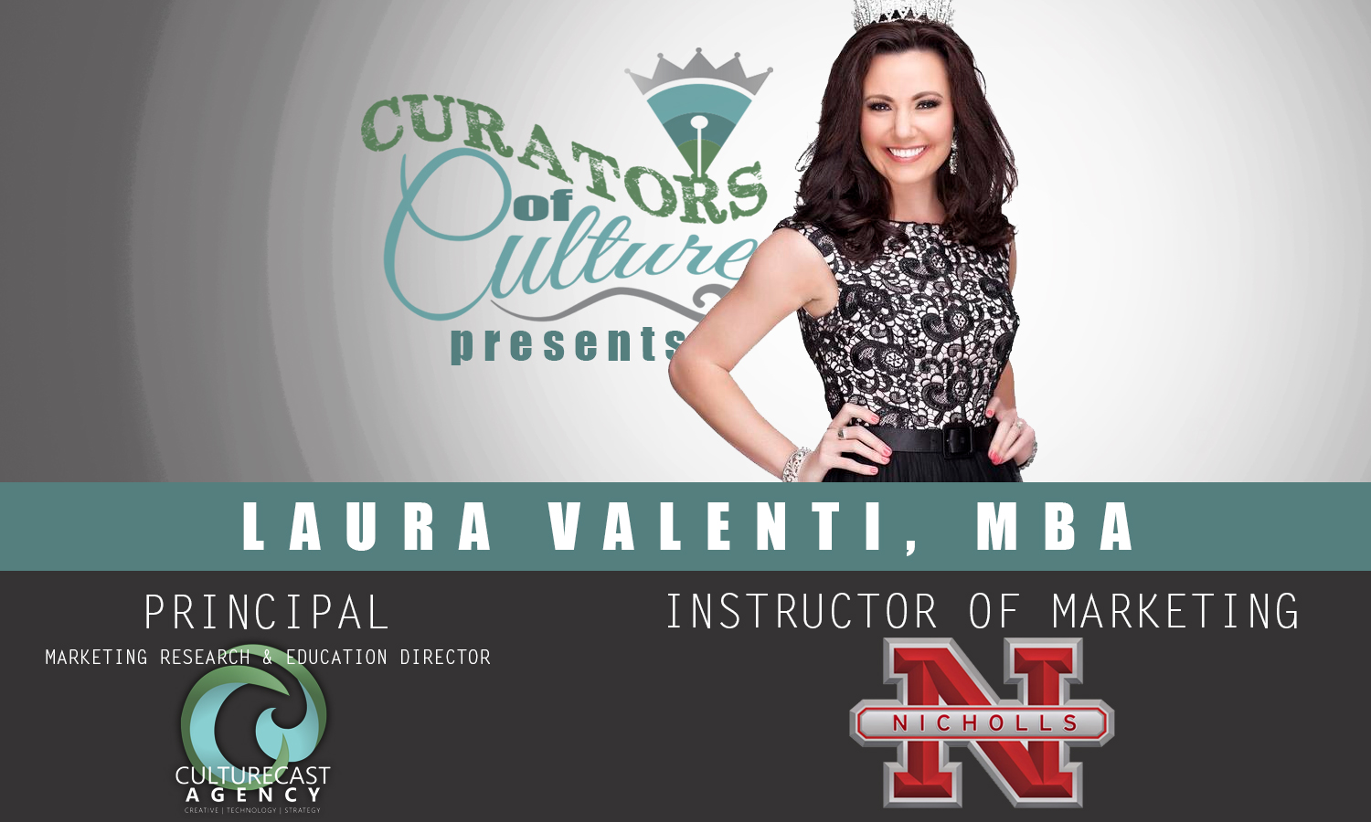 Curators of a Culture: Meet the Authors of Culturecast | Laura Valenti, MBA